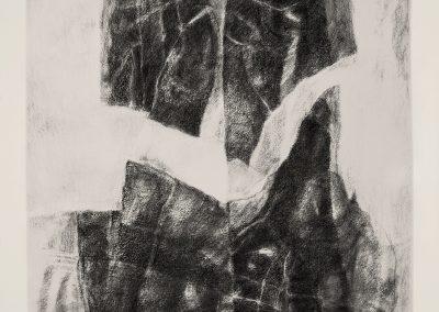 003 - carboncillo y grafito s.papel - 38x32 cm.