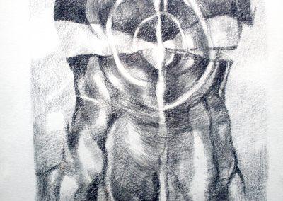 006 -carboncillo y grafito s.papel 23x29cm.