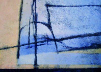 002 - La luz cenicienta del recuerdo 73x92 cm.-acr.s.tela - 2001