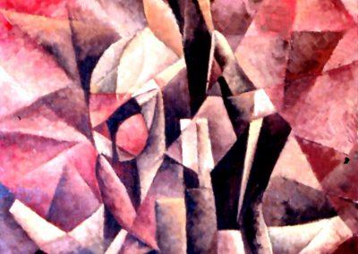 004 - Me trae de cabeza - 50x60 cm. Oleo s. cart.entelado - 1971