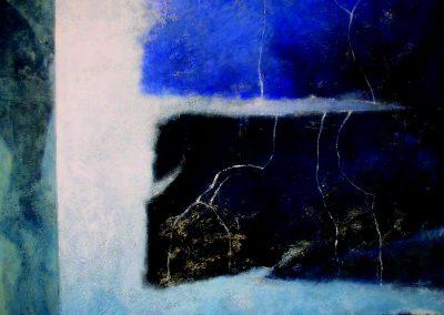 005 - Cuando la luz es sombra.- 100x100 cm.- acr.s.tela.- 2006