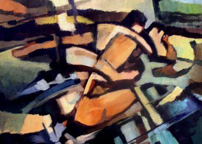 006 - El amor - 1972 - 50x60 - ol.s. cart.