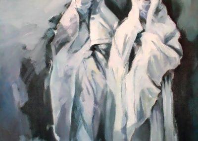 008 - Dos figuras 50x60 cm- 1988