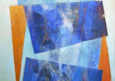011 - Entre lo que es y lo que no es - 60x100 cm.acrils.tela- 2008