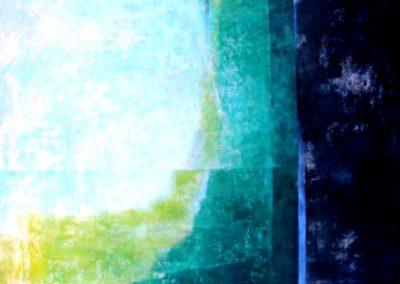 013 - De apariciones y desaparicioneacr.s.tela - 100x100.- 2009