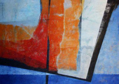 014 - del color a la forma - 73x100.- acr.s.tela - 2010