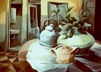 015 -Desde las dichas cumplidas - 60x80.-oleo.s.tela 1981