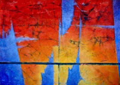 017 - En el laberinto del tiempo - 100x73 c.- acr.s.tela - 2010