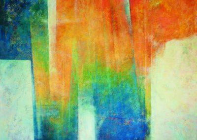 018 - Soy lo que no existe - 100 x 100 cm.- acr.s.tela - 2015